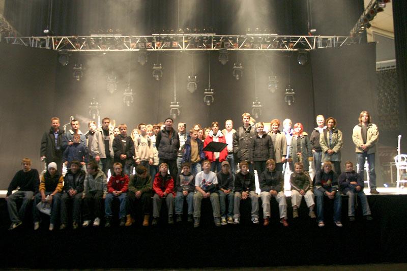 2004: Schulausflug zu Rainhard Fendrich – Backstage in der Münchner Olympiahalle