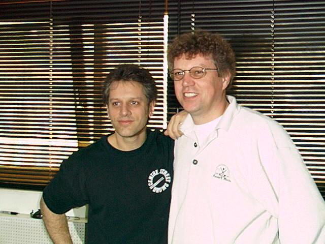 1998: Drum-Legende Dave Weckl bei DRUMS