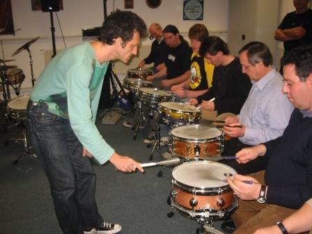 2006: Masterclass mit Jojo Mayer