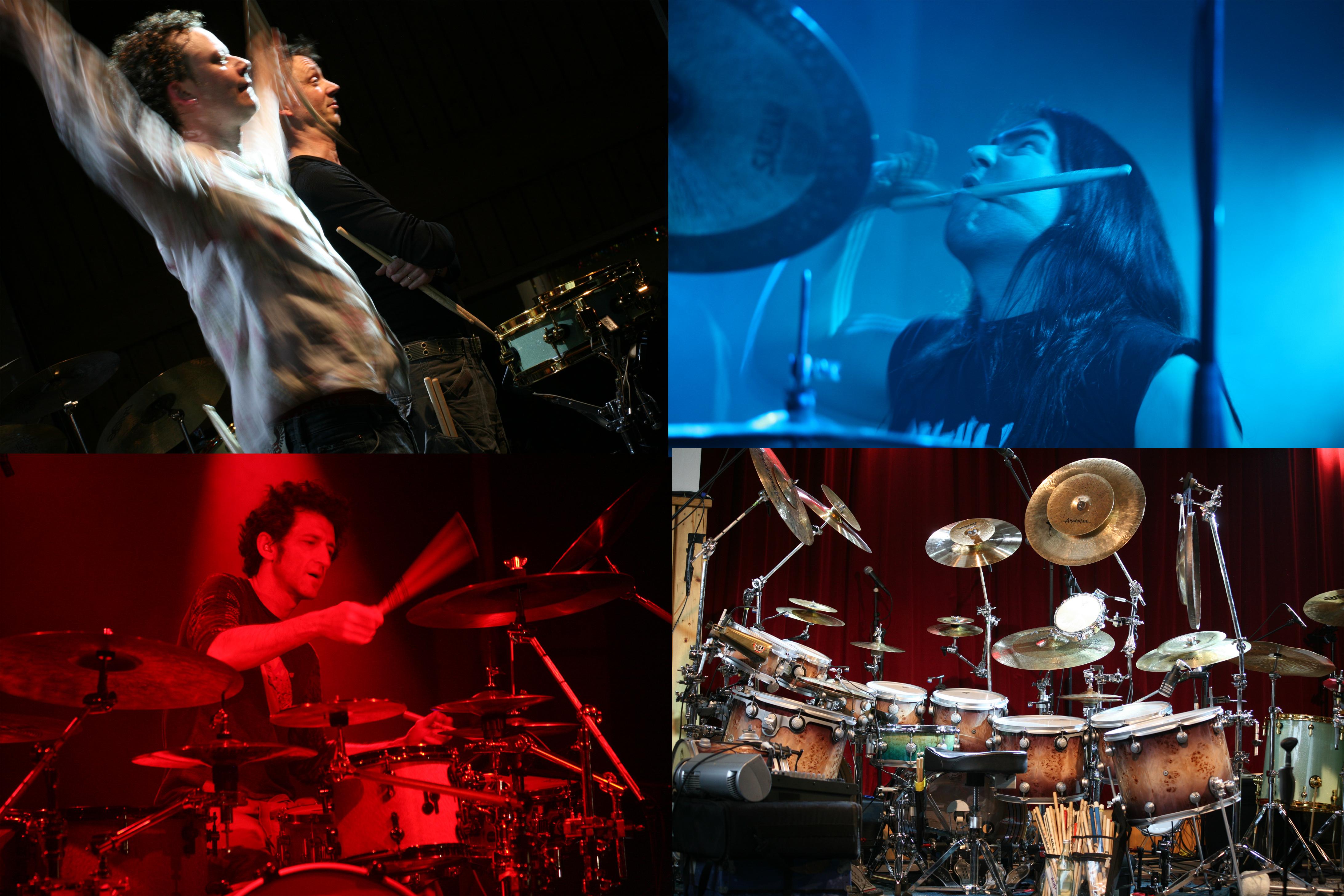 2008: 25-Jahr-Feier mit Jojo Mayer, den Drumbassadors, Stefan Spatz u.v.m.
