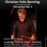 Christian Felix Benning & Percussion No. 1